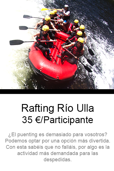 Rafting despedidas