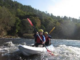 Ruta en kayak Vedra Galicia 1