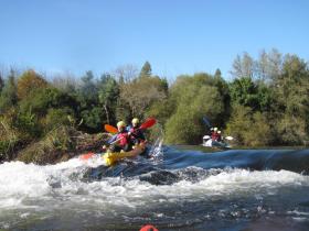 Ruta en kayak Vedra Galicia 3