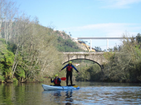 Ruta en kayak Vedra Galicia 4